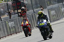 MotoGP - Rossi bewundert Marquez