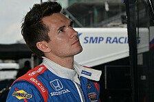 IndyCar - Aleshin feiert Comeback beim Saisonfinale