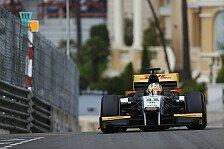 GP2 - Daniel Abt in Monaco vom Pech verfolgt