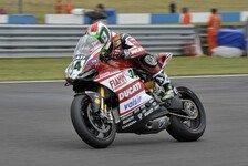 Superbike - Ducati: Podium wäre schön gewesen