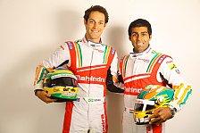 Formel E - Mahindra verpflichtet Senna und Chandhok