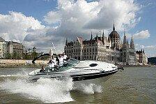 DTM - BMW-Piloten: Rasante Bootsfahrt auf der Donau