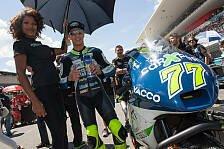 Moto2 - Aegerter testet MotoGP