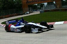 IndyCar - Aleshin aus dem Krankenhaus entlassen
