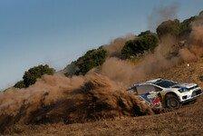 WRC - Volkswagen beim Italien-Shakedown gut in Form