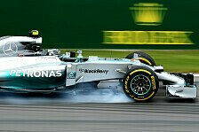 Formel 1 - Mercedes: Probleme auf den Supersofts