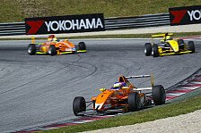 ADAC Formel Masters - Maximilian Günther erobert Podium
