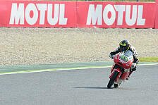 Moto3 - Luca Grünwald: Probleme mit Chattering