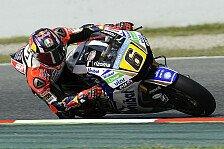 MotoGP - Bradl nach Startreihe eins: Hatte Lampenfieber