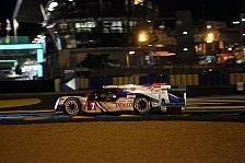 24 h von Le Mans - Toyota führt das Feld in die Nacht