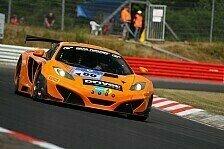 24 h Nürburgring - Qualifying: Bestzeit durch Dörr-McLaren