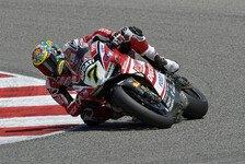 Superbike - Davies fuhr am Limit