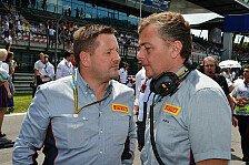 Formel 1 - Pirelli: Mario Isola beerbt Paul Hembery