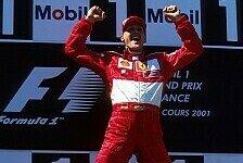 Formel 1 - Bilder: Michael Schumachers Podestplätze