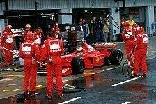 Formel 1, Silverstone-Geschichte: Schumachers kuriosester Sieg