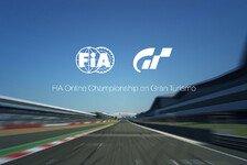 Games - Gran Turismo mit FIA-Online-Meisterschaft