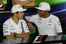 Formel 1 - Massa lästert über Party-Hamilton - Lewis kontert