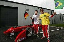 Formel E - Bilder: Testfahrten in Donington