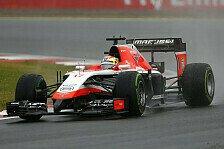 Formel 1 - Bianchi beschert Marussia historischen Erfolg