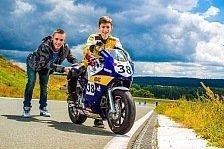 ADAC Mini Bike Cup - Jonas Folger besucht die Talente