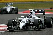 Formel 1 - Massa und Bottas Teil eines Langzeitplans