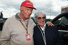 Formel 1 - Deutschland GP: Lauda verteidigt Ecclestone