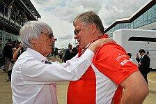 Formel 1 - Ecclestone: Nichts ist sicherer als ein F1-Auto