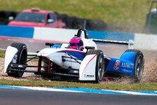 Formel E - Brabham-Enkel gibt Debüt für Andretti