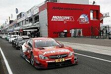 DTM - Mercedes in Moskau: Kollektive Klatsche