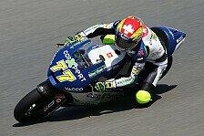 Moto2 - Aegerter im zweiten Freien Training knapp voran