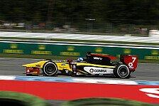 GP2 - Palmer holt Pole in Hockenheim