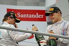 Hamiltons neuer Mercedes-Gegner: Wie viel Rosberg steckt in Bottas?