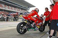 MotoGP - Marco Melandri fährt, zumindest am Donnerstag