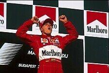 Michael Schumacher wird in die Hall of Fame des deutschen Sports aufgenommen
