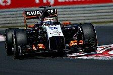 Formel 1 - Doppelte Punkte bereiten Force India Sorgen