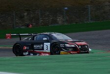 Blancpain GT Serien - Crashfestival in Spa: Audi führt bei roter Flagge
