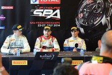 Blancpain GT Serien - Audi-Spezi Vanthoor holt die Spa-Pole