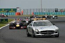 Formel 1 - Safety Cars: Ricciardos Glück war Rosbergs Pech