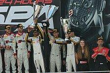 Blancpain GT Serien - Dirk Werner: Sieg wäre gerechtfertigt gewesen