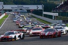 Blancpain GT Serien - Die Starterliste zu Sprint & Endurance