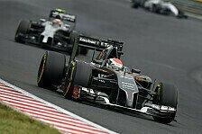 Formel 1 - Sauber Vorschau: Belgien GP