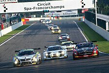 Blancpain GT Series - Spa: Wissenswertes zum Rennwochenende