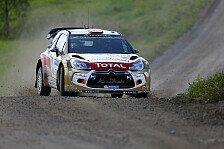 WRC - Östberg: Bäume stehen fast auf der Rennlinie