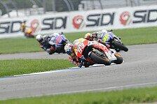 MotoGP - Indianapolis: Neuer Asphalt, neue Reifen