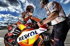 MotoGP - Marquez angelt sich die Pole in Brünn