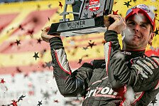 IndyCar - Power gewinnt in Milwaukee
