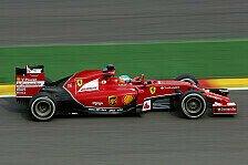 Formel 1 - Pirelli testet Reifen in Fiorano mit Ferrari