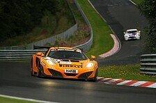 VLN - Dörr-McLaren im Qualifying verunfallt