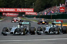Formel 1 - Rosberg vs. Hamilton: Star Wars II bei Mercedes