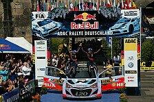 WRC - Neuville: Vorfreude auf Atmosphäre in Deutschland
